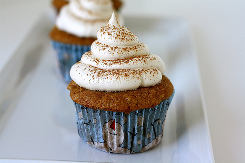 Whole Wheat Cupcakes